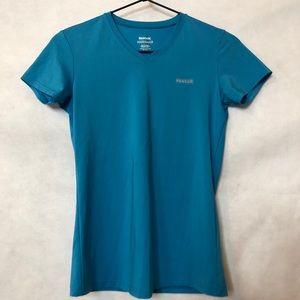 Reebok Women's Play-Dry Athletic V-Neck Shirt XS